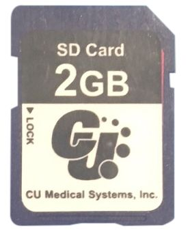 SD CARD FOR DEFIBRILLATOR IPAD SP1/SP2