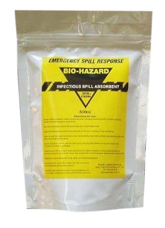 BIOHAZARD ABSORBENT POWDER SACHET 500ML