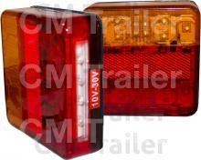 LED COMBO TAIL LAMP INC NUMBER/PL LIGHT