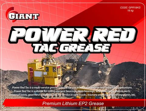 GIANT POWER RED GREASE 450G