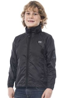 Mac in a Sac Kids Origin Jacket Black 5-7yr