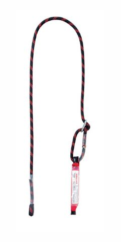 Lanex Adjustable Rope Lanyard with Absorber ABM