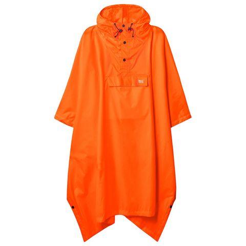 Mac in a Sac Poncho Neon Orange