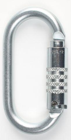 Edelweiss Steel Oval Triplock