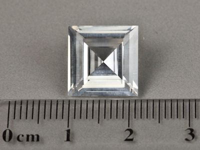 Synthetic White Spinel 12mm Square (S)