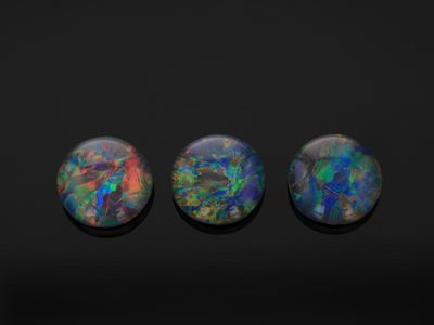 Opal Triplet 6mm Round