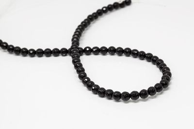 Onyx Bead Strands 6mm Faceted Round (T)