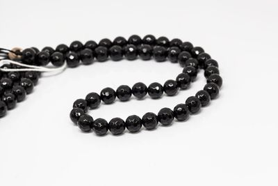 Onyx Bead Strands 8mm Faceted Round (T)