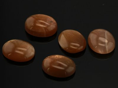 Sunstone 10x8mm Oval Cabochon (N)