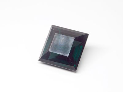 Syn Tourmaline Spinel 15mm Square Swiss (S)