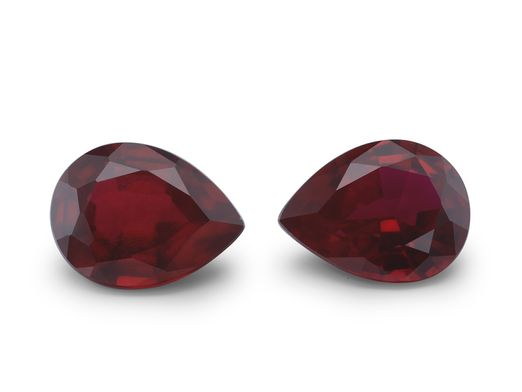 Hydrothermal Ruby 8x6mm Pear Shape (S)