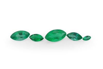 Emerald 4x2mm Marquise 1st Grade (E)