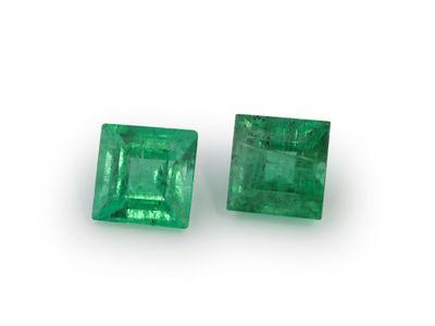 Emerald 4mm Square Carre 1st Grade (E)