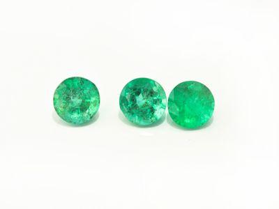 Emerald 5mm Round 2nd Grade (E)