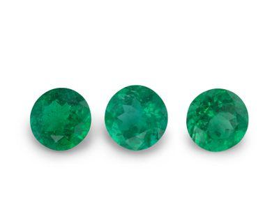 Emerald 5mm Round 1st Grade (E)