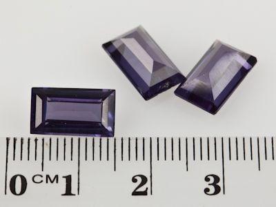Syn Alexandrite Corundum 12x7mm Bag (S)