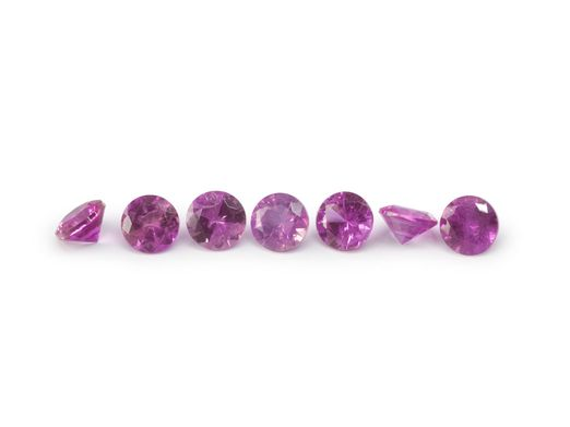 Pink Sapphire Signity MD Pink MidQ 1.75mm Round (E)