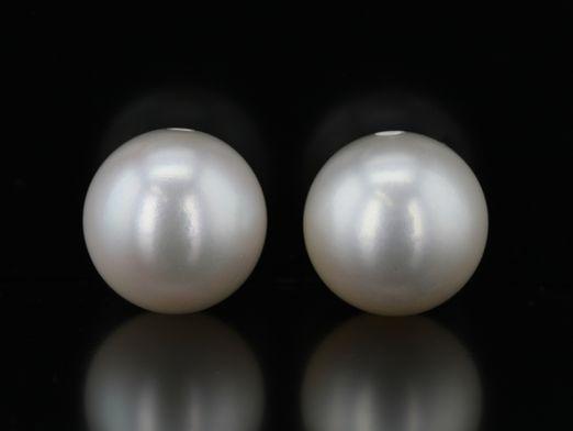 Fresh Water Pearl 9-9.5mm Half Drilled (C)