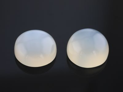 Moonstone White 11mm Round Cabochon (N)