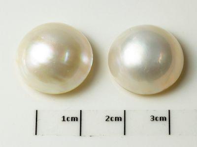 Mabe White Pearl 17.5-18mm Round (C)