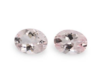 Pink Morganite Dark 8x6mm Oval (T)