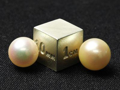 Akoya Pearl Cream 8-8.5mm (C)