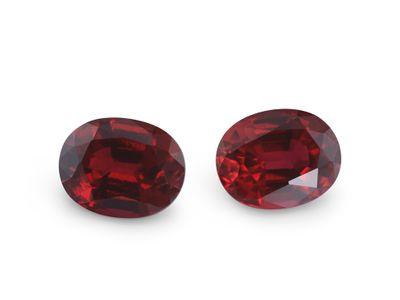 Hydrothermal Ruby 9x7mm Oval (S)