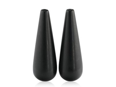 Onyx Drop Matte 30x10mm Pair (T)