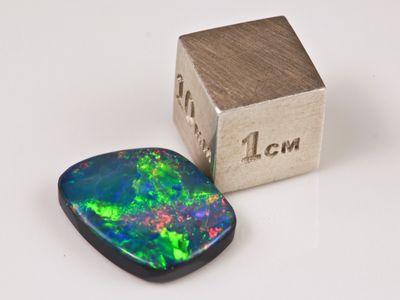 Opal Doublet 14.6x11.5mm Trapezium