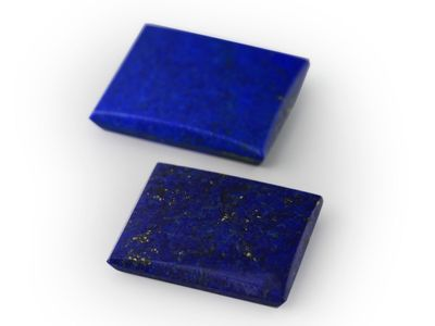 Lapis Lazuli 11x9mm Rectangle BT (N)