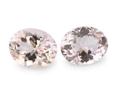 Pink Morganite Dark 10x8mm Oval (T)