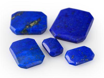 Lapis Lazuli 9x7mm Emerald B/T (N)