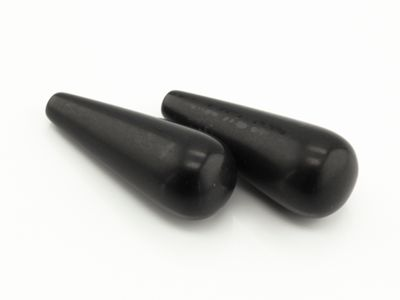 Onyx Drop Matte 25x10mm Pair (T)