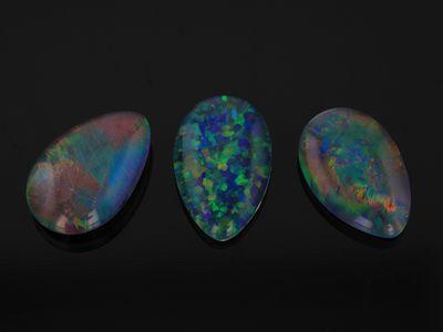 Opal Triplet 9x6mm Pear Shape