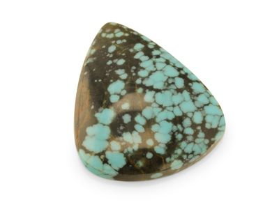 Chinese Turquoise 28x24mm Pear Cab (T)