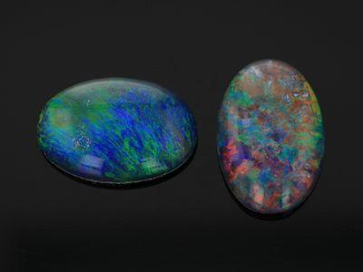Opal Triplet 12x8mm Oval