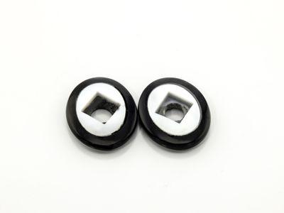 Onyx MOP 12x10mm Oval BuffTop #1 (T)