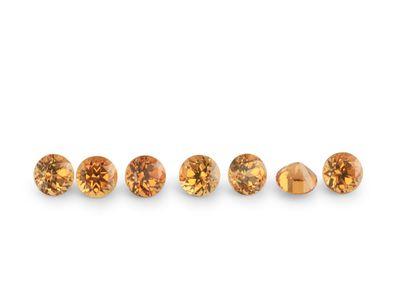 Garnet Orange Signity 1.75mm Round FQ (N)