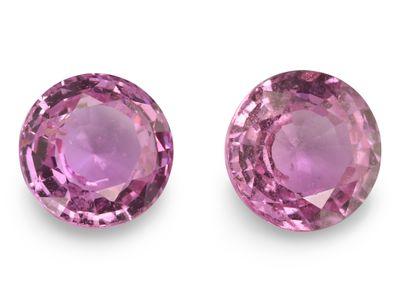 Pink Sapphire 5.5mm Round Light Pink (E)