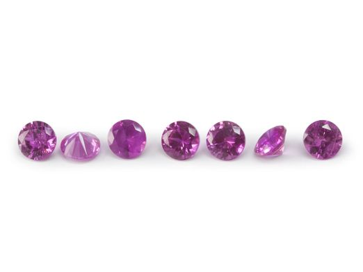 Pink Sapphire Signity MD Pink MidQ 2mm Round (E)