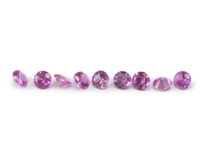 Pink Sapphire Signity MD Pink MidQ 1.25mm Round (E)