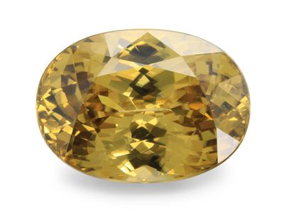 Whiskey Zircon 17.8x13mm Oval (N)
