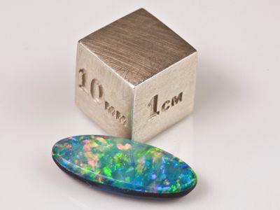 Opal Doublets Assort Size & Shapes. Gem Grade (T)