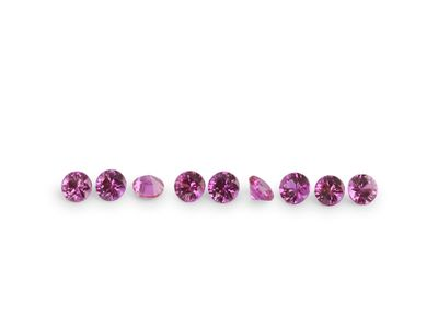 Ruby Bright Red 1.2mm Round Signity FQ (E)