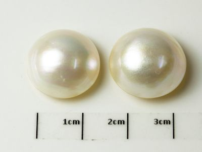 Mabe White Pearl 16.5-17mm Round (C)