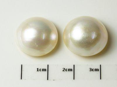 Mabe White Pearl 16.5-17mm Round (C)