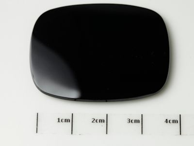 German Cut Onyx 40x30mm Cushion BuffTop (T)