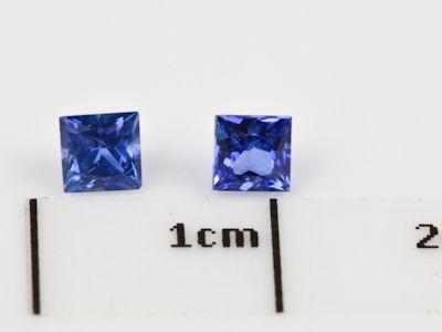 Ceylon Sapph 3.25mm Sq/Prin Strong Bri Blue (E)