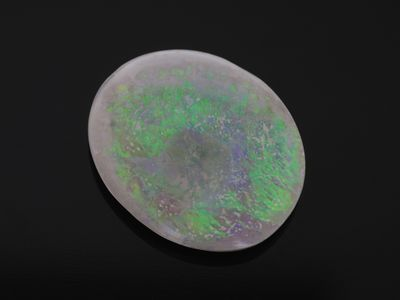 Solid White Opal 14.2x12mm Oval (N)