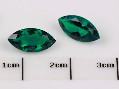 Hydrothermal Emerald 10x5mm Marquise (S)